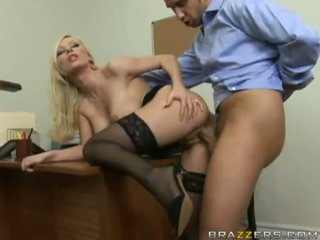 Sex Rocking HElena White Bends Her Body On A Table And Acquires Real Rammed