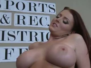 Busty Sophie Dee Fucking A Big Cock Video