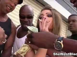 Ashlynn Leigh Gets Rough Gangbanged And Dp By Black Cocks