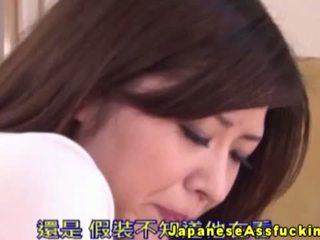 Asian Nippon Using Anal Beads