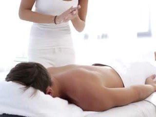 you brunettes, best massage full