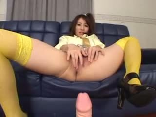 Japanese Riko pussy squirting Video