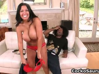 Huge Busted Sienna West Pipeing Chocolate