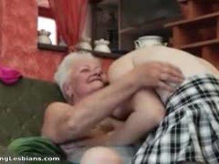 babička, lesbička, zralý