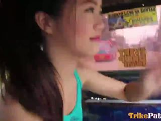 Ładniutka filipin bardzo młody teenager mitch z trikepatrol