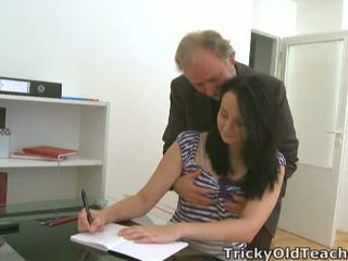 Tiffany The Learner Gives Way To Her Teacher's Advances
