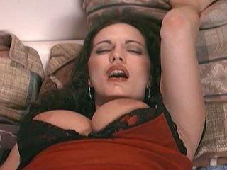 tits, cock, brunette