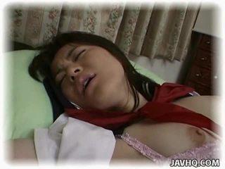 Aziāti skolniece having trakas intercourse