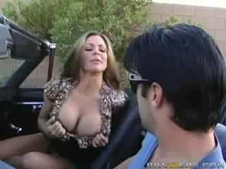 big, tits, cock, brunette