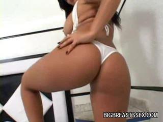 বাঙ্গি, বড় tits, latina মেয়ে