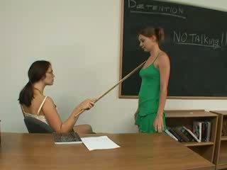 Lesbian Schoolgirls having ex-girlfriend