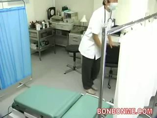 Spycam voor afdeling van gynecology en obstetrics, creampie neuken 001