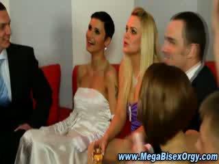 bi sex bridal party
