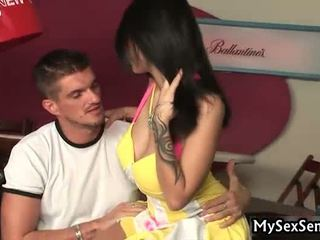 Tattooed Wench Acquires It Hard And Unfathomable