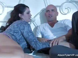 Alison Tyler and her male gigolo