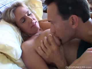 Pretty big Titty mature doll boned and blasted