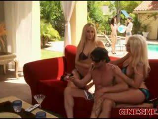 Tommy gunn - бікіні threesomes секс tasha reign leya falcon