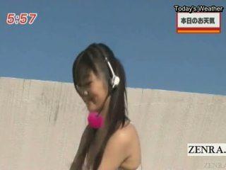 fresh brunette, japanese quality, striptease hot