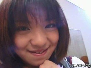 Rino sayaka cipka stimulation i gorące nastolatka pieprzyć!