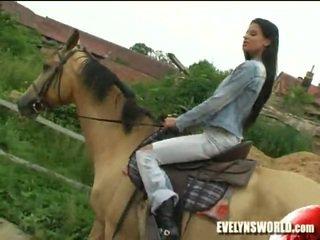 Klara Smetanova - Sexy On Farm