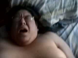 脂肪 業餘 成熟 妻子 性交 和 taped 由 她的 丈夫 視頻