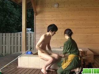 japanese, blowjob, mature