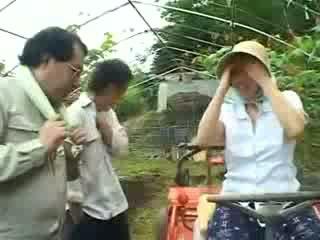 Azjatyckie wieś kobieta gets wykorzystane wideo