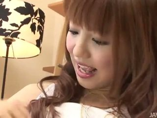 Japanese cutie kotone's cunt played
