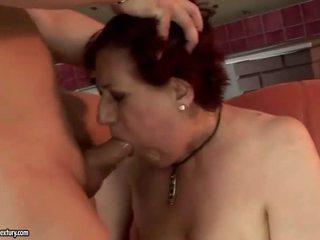 Sehr fett großmutter getting gefickt schwer