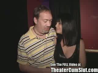 גדול titty שחרחורת אמא שאני אוהב לדפוק הזונה gets אנאלי creampies מן פורנו theater strangers