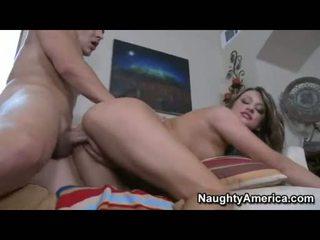 Breasty Babe Carmen Mccarthy Receives Her Healthy Jugs Jizzed After A Hot Ram