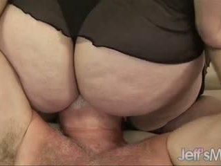 BBW Angelina's titanic body & cunt get a guy off