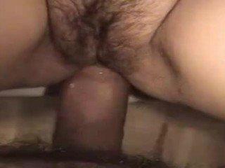 Man Fucks Wife's Her Hairy Tight Ass