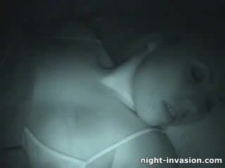 Bigtit maly fingered in sleep