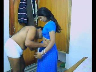 Indisk pair onto deras honeymoon chewing och bonking