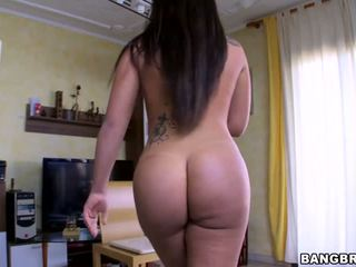 Clara Gold showing off her big fat ass