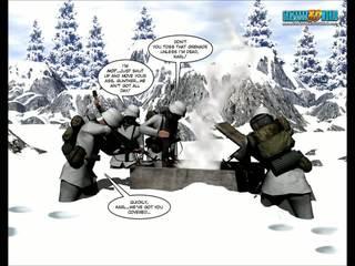 3D Comic Fourth World 12
