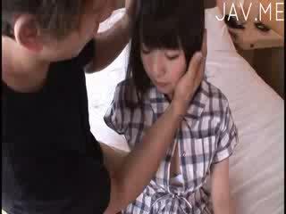 bröst, fan, japansk, exotiska