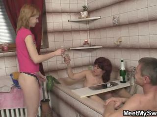 He Finds Female In 3 Some Debauchery Surrounding His Parents