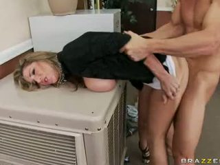 Busty Sweetheart KAyla Paige Feels The Firm Wang Cracking Her Pussy Hard Like A Pole