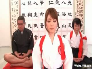 Cute Japanese Karate Babe Abused Part6