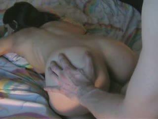Sweet Martina Gets Cum on her Sexy Ass
