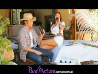 Alison Star - PureMature Farm Girl Milf Banged In Barn Yard