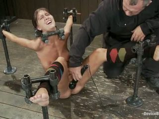 Alicia Stone Brutally Bound Foot Caned And Made To Cum Over And Over