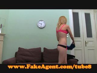 Fakeagent blond takes anal sahnetorte