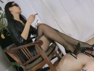 foot fetish, femdom, stockings, asian