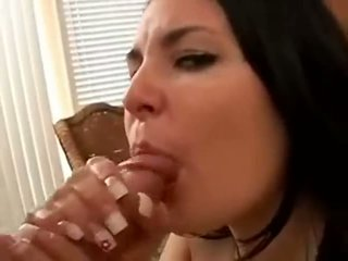 Oral creampie sæd i munn kavalkade