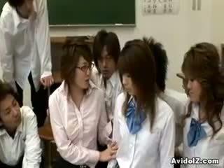 มีอารมณ์ ญี่ปุ่น คุณครู gets ระยำ และ วิปริต