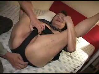 Fucking Japanese Hot Granny Video