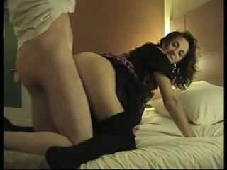 brunette, french, anal